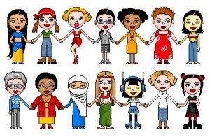 Vrouwen verbinden voor vrede